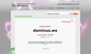 Dominus.ws thumbnail