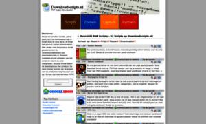 Downloadscripts.nl thumbnail
