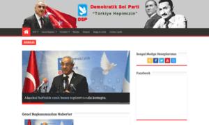 Dsp.org.tr thumbnail