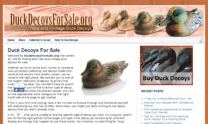 Duckdecoysforsale.org thumbnail