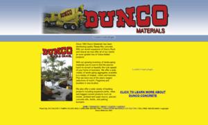Duncorock.com thumbnail