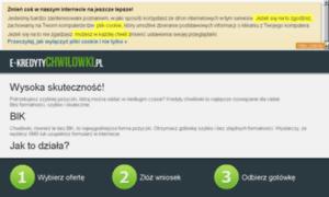 E-kredytychwilowki.pl thumbnail