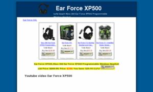 Earforcexp500.net thumbnail