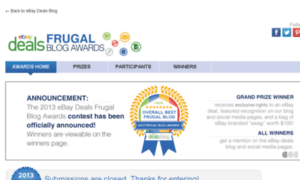 Ebayfrugalblogawards.com thumbnail