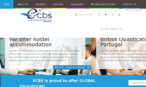 Ecbs.edu.pt thumbnail