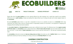 Ecobuilders.co.za thumbnail