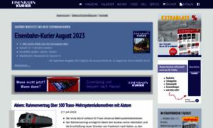 Eisenbahn-kurier.de thumbnail