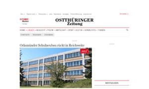 Eisenberg.thueringer-allgemeine.de thumbnail