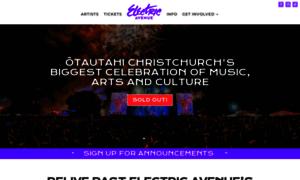 Electricavenuefestival.co.nz thumbnail