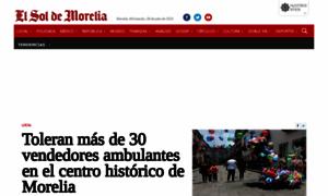 Elsoldemorelia.com.mx thumbnail