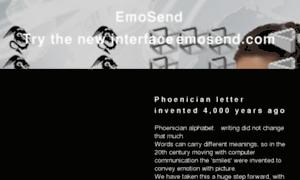 Emosend.net thumbnail