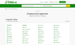 Employment-agencies.cmac.ws thumbnail