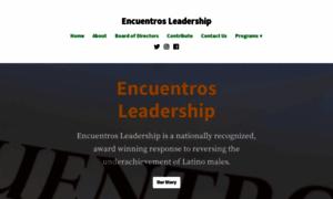 Encuentrosleadership.org thumbnail