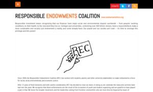 Endowmentethics.org thumbnail