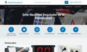 Enre.gov.ar thumbnail