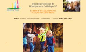 Enseignement-catholique-37.fr thumbnail