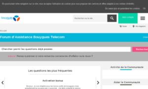 Entraide.bouyguestelecom.fr thumbnail