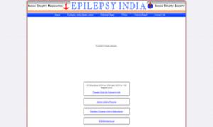 Epilepsyindia.org thumbnail