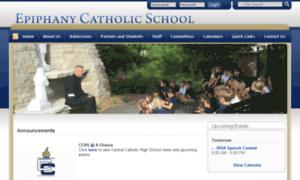 Epiphany.schoolfusion.us thumbnail