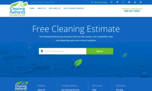 Estimate.thecleaningauthority.com thumbnail