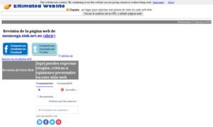 Estimatedwebsite.es thumbnail