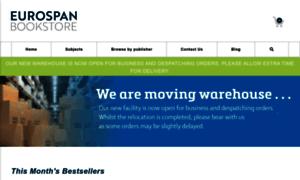 Eurospanbookstore.com thumbnail