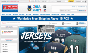 Everyjerseys.name thumbnail