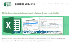 Exceldoseujeito.com.br thumbnail