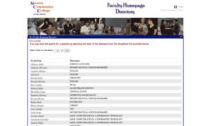 Faculty.ncc.edu thumbnail