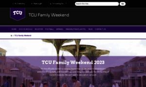 Familyweekend.tcu.edu thumbnail