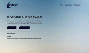 Fapa.fi thumbnail