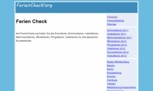 Feriencheck.org thumbnail