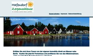 ferienhaus am wasser ferienh user hafendorf. Black Bedroom Furniture Sets. Home Design Ideas
