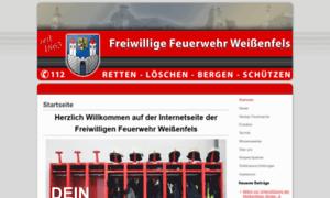Feuerwehr-weissenfels.de thumbnail
