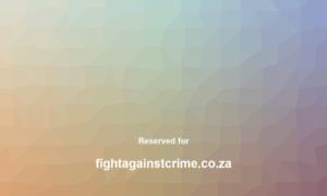 Fightagainstcrime.co.za thumbnail