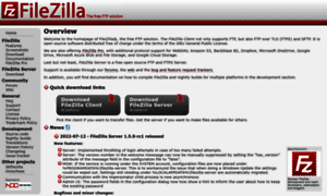 Filezilla-project.org thumbnail