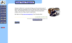 final year project dissertation How to write a final year dissertation how to write a final year dissertation aug 01, 2010 in this sense, it is often known as a final year project.