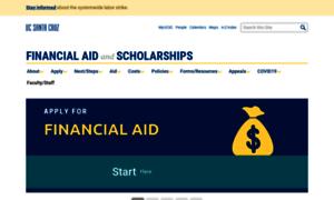 Financialaid.ucsc.edu thumbnail