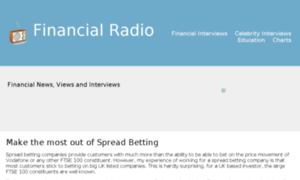 Financialradio.co.uk thumbnail