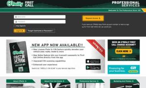 Firstcallonline.com: O'Reilly First Call Auto Parts for ...
