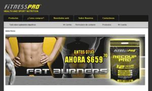 Fitnessproargentina.com.ar thumbnail