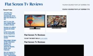 Flatscreentvreviewsx.com thumbnail