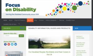 Focusondisability.org.uk thumbnail