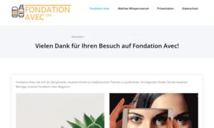Fondation-avec.org thumbnail
