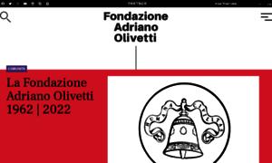 Fondazioneadrianolivetti.it thumbnail