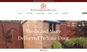 Foresters-sheds.co.uk thumbnail