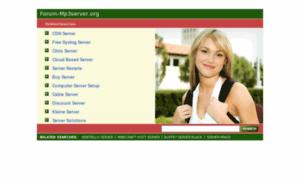 Forum-mp3server.org thumbnail