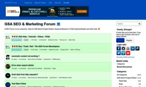 Forum.gsa-online.de thumbnail