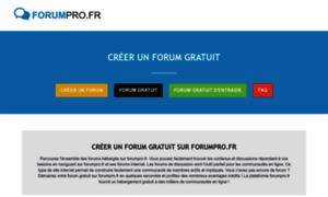 Forumpro.fr thumbnail