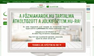 Fozniakarok.hu thumbnail